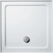 Vanička litý mramor Ideal Standard čtverec Simplicity Stone 810x810x40mm bílá