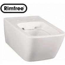 WC závěsné Kolo odpad vodorovný Life Rimfree  bílá+KeraTect