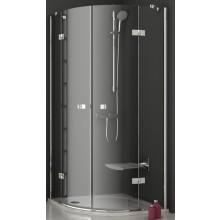 RAVAK SMARTLINE SMSKK4 80 sprchový kout 800x800x1900mm čtvrtkruhový, čtyřdílný, chrom/transparent
