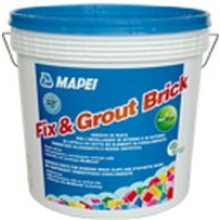 MAPEI FIX & GROUT BRICK pastovité lepidlo 12kg, šedá