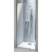 Zástěna sprchová dveře Kolo sklo Next 1000x1950mm chrom/stř.lesklá/čiré sklo