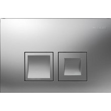 GEBERIT DELTA 50 ovládací tlačítko 24,6x16,4cm, chrom mat 115.135.46.1