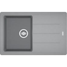 FRANKE BASIS BFG 611-78 dřez 780x500mm s odkapávačem, fragranit/šedý kámen