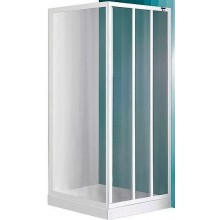 ROLTECHNIK SANIPRO LD3/950 sprchové dveře 950x1800mm posuvné pro instalaci do niky, bílá/grape