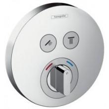 HANSGROHE SHOWER SELECT sprchová baterie 150mm podomítková, pro 2 spotřebiče, vrchní sada, chrom