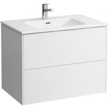 LAUFEN PRO S umyvadlo 800x500x610mm, se skříňkou pod umyvadlo, bílá