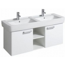 Nábytek skříňka pod umyvadlo Keramag Renova Nr.1 Plan 120x46,3x44,5 cm bílá/bílá lesklá