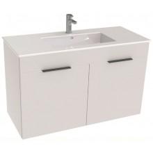 JIKA CUBE skříňka s umyvadlem 980x422x607mm, 2 dveře, bílá