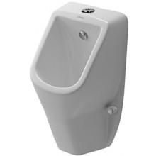 DURAVIT D-CODE urinal 305x290mm bez cílové mušky, bílá