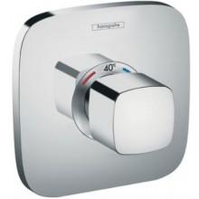 HANSGROHE ECOSTAT E termostatická baterie 155x155mm, podomítková, vrchní díl, chrom