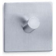 ZACK DUPLO háček na ručníky 5x5cm, čtvercový samolepící, nerez ocel