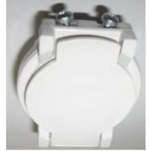PLASTIFLEX plastový ventil s kontakty, bílá