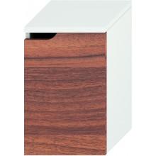 JIKA MIO střední skříňka 363x340x571mm pravá, bílá/ořech 4.3418.2.171.506.1