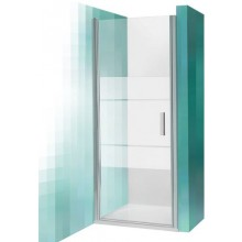ROLTECHNIK TOWER LINE TCN1/900 sprchové dveře 900x2000mm jednokřídlé, stříbro/transparent