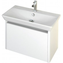 CONCEPT 600 skříňka pod umyvadlo 72,5x42x43cm závěsná, šedá/šedá C600.80.SG