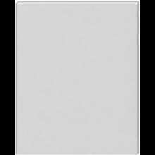JIKA CUBE zrcadlo 1200x19x750mm, na desce, tmavý dub 4.5555.7.039.316.1