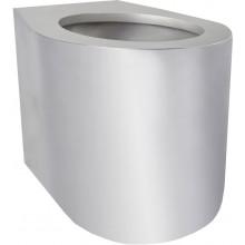 AZP BRNO BSNZ 02 klozet 358x433mm, na postavení, bezpečnostní, nerez ocel