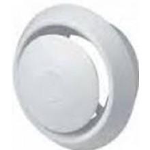 DEN BRAVEN větrací ventil Ø100mm, s regulací, bílá