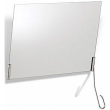 KOLO LEHNEN FUNKTION sada upevnění pro sklopné zrcadlo 600x400mm 2-dílná sada, bez zrcadla, nerezová ocel L1600510