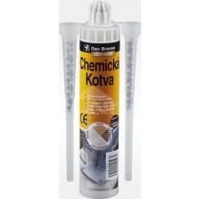 DEN BRAVEN PROFESSIONAL chemická kotva 150ml, dvousložkové, polyesterové, šedý