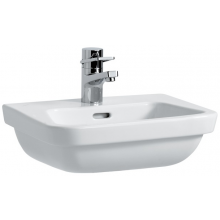 Umývátko klasické Laufen s otvorem Moderna Plus 45 cm bílá