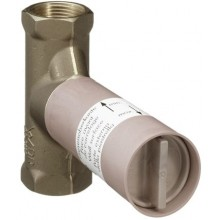 HANSGROHE PURAVIDA základní těleso 40 l/min pro uzavírací ventil podomítkový DN15 15974180