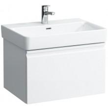 LAUFEN PRO S skříňka pod umyvadlo 615x450x390mm, se zásuvkou a vnitřní zásuvkou, bílá mat