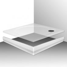 ROLTECHNIK MACAO-M 800 čelní panel 800mm, čtverec, krycí, akrylátový, bílá