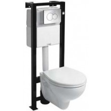 Předstěnové systémy modul pro WC Kolo Technic Rekord (99169 000 + K93100 000)  bílá
