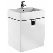 KOLO TWINS skříňka pod umyvadlo 60x57cm závěsná, lesklá bílá 89498000