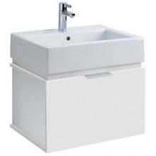 Nábytek skříňka s umyvadlem Kolo Twins 50x52x46 cm bílá/lesklá bílá