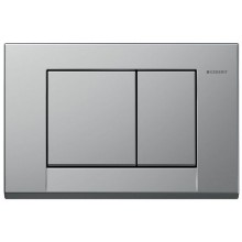 GEBERIT BOLERO ovládací tlačítko 24,6x16,4cm, chrom mat 115.777.46.1