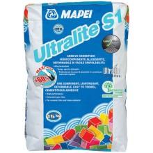 MAPEI ULTRALITE S1 cementové lepidlo 15kg, jednosložkové, šedá