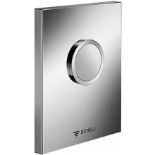 SCHELL EDITION ovládání k WC 124x153,5mm, alpská bílá