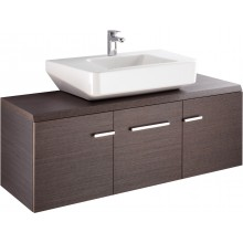 Nábytek skříňka pod umyvadlo Ideal Standard Imagine 135x47x48,5 cm dýha z pr.dub.dřeva - světlá