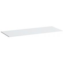 LAUFEN KARTELL BY LAUFEN umyvadlová deska 1200x460x12mm s výřezem vpravo bílá lesk 4.0773.3.033.631.1