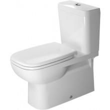 WC kombinované Duravit odpad vario D-code s hlub. splach. bez nádrže vario 36x69,5 cm bílá