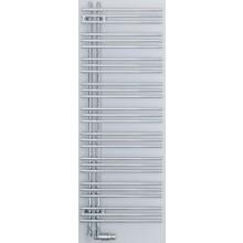 ZEHNDER YUCCA ASYM radiátor koupelnový 378x1444mm, jednořadý, elektrický, pravý, chrom