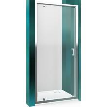 ROLTECHNIK LEGA LINE LLDO1/800 sprchové dveře 800x1900mm jednokřídlé pro instalaci do niky, rámové, brillant/transparent