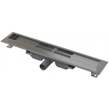 CONCEPT 100 LOW podlahový žlab 1050x60mm snížený, s okrajem pro plný rošt, nerez
