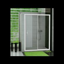 SANSWISS TOP LINE TOPS2 sprchové dveře 1400x1900mm, do niky, jednodílné, s pevnou stěnou, bílá/čirá