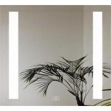 AMIRRO LUMINA koupelnové zrcadlo 70x70cm, s LED osvětlením, dotykový senzor