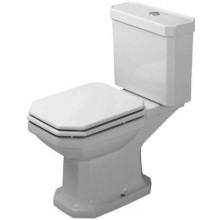 WC mísa Duravit odpad vodorovný 1930  bílá+wondergliss
