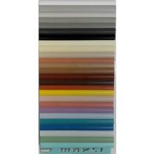 MAPEI ukončovací profil 7mm, 2500mm, venkovní, PVC/100 bílá