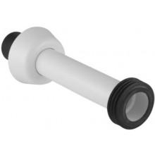 GEBERIT připojovací souprava pro WC umístěné na podlaze 44x40x55mm, bílá