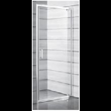 JIKA LYRA PLUS sprchové dveře pravolevé jednokřídlé 900x1900mm, stripy