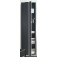 Nábytek skříňka Duravit Ketho vysoká levá 500x360x1800 mm bílá matná/bílá matná