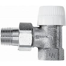 "Ventil radiátorový - závitový termostat. Concept Ventil VPT 71 1/2"" - rohový s přednastavením"