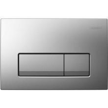 GEBERIT DELTA 51 ovládací tlačítko 24,6x2,6x16,4cm, plast, chrom matný