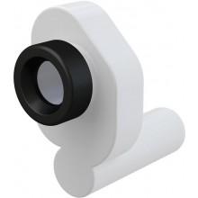 CONCEPT pisoárový sifon vodorovný, bílá